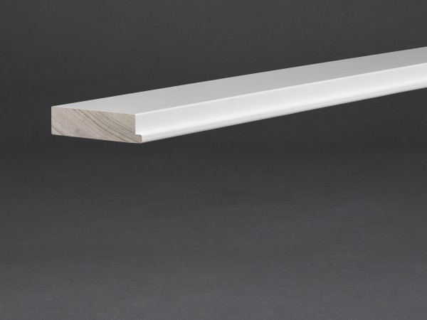 Massivholz weiß lackiert 65x16 mm Abstandshalter