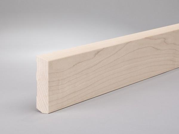 Ahorn 60x16 mm Oberkante abgeschrägt