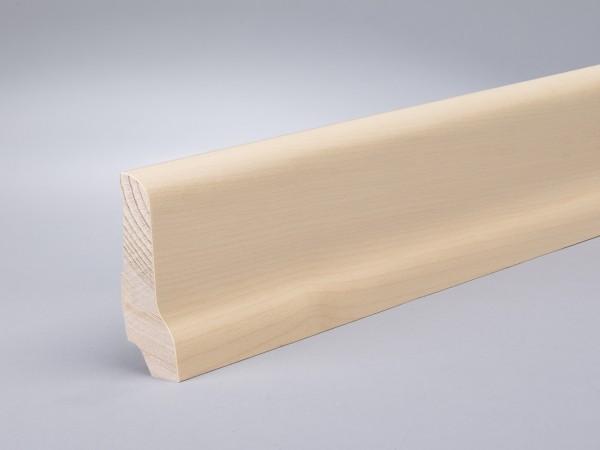 Ahorn (Furnier) 60x22x2400 mm lackiert Oberkante profiliert