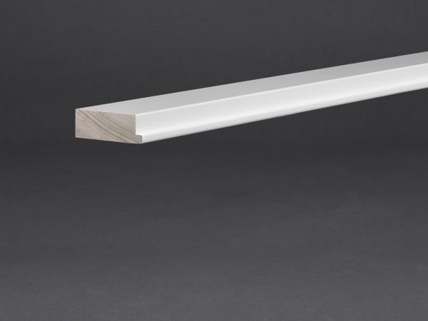 Massivholz weiß lackiert 45x16 mm Abstandshalter