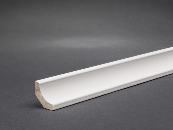 Profil 135 Massivholz weiß