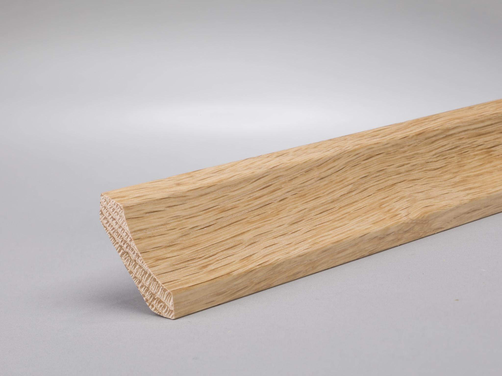 sockelleisten, fußleisten & abschlussleisten aus massivholz