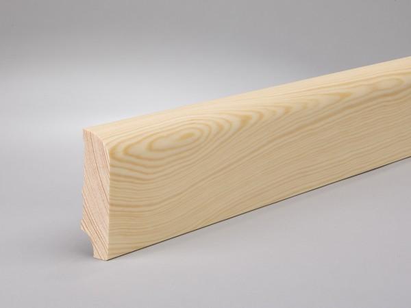 Kiefer 60x16 mm Oberkante abgerundet