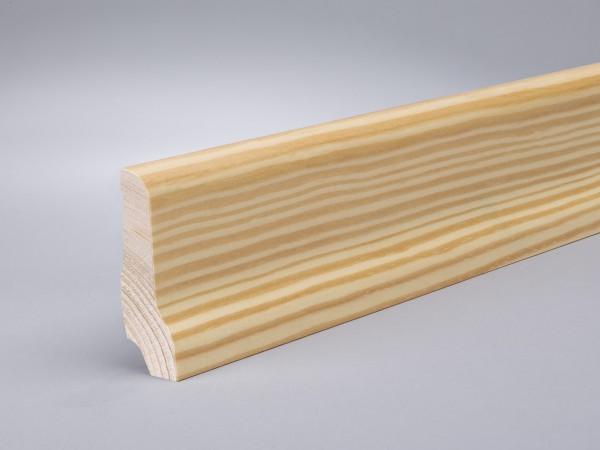Kiefer (Furnier) 60x22 mm lackiert Oberkante profiliert