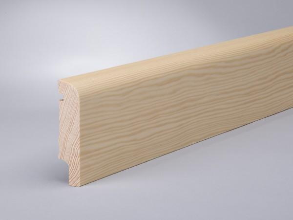 Kiefer 80x20 mm Oberkante abgerundet