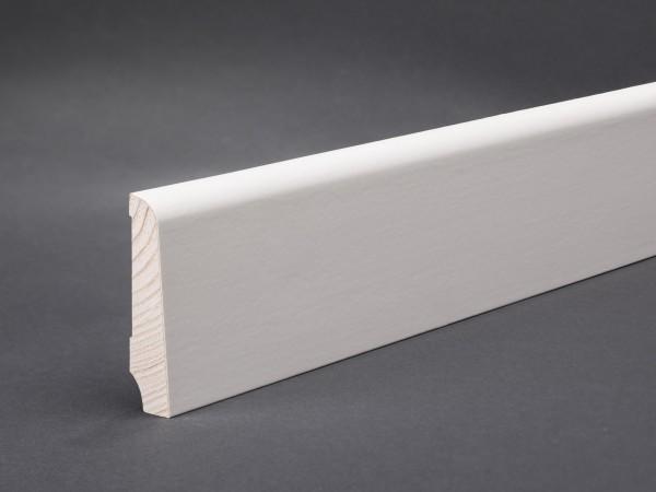 Profil 7660 weiß lackiert Furnier