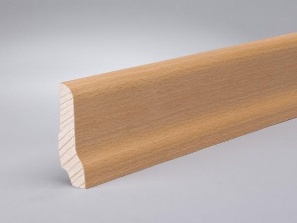 Buche (Furnier) 60x22x2400 mm lackiert profiliert