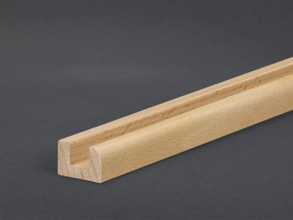 Buche 15x22 mm Montageleiste Boden